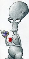 Roger from American Dad by scottscottscott