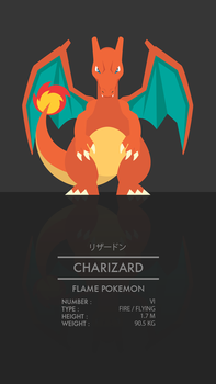 Charizard by WEAPONIX
