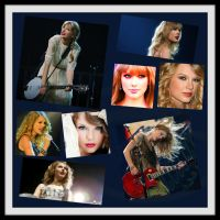 Taylor Swift Collage by chloexiang