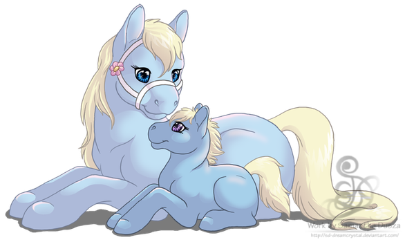 Mother and Child by SD-DreamCrystal