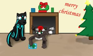 """""""merry christmas"""" by star-bot381"""