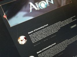 AION UI (new project in progress) by FStudiomd
