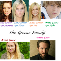 The Greene Family by WolfielovesSirius