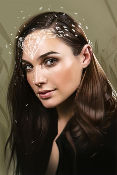 Gal Gadot - Wonder Woman Illustration by vurdeM