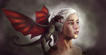FanArt - Khaleesi (Il Trono Di Spade) by Ena-the-original