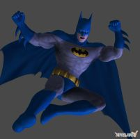 Batman : Arkham City 70s DLC by XNALaraFanatic