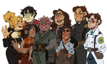 FAN CHARACTERS AHOY by AgentDax