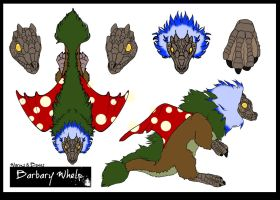 Enchanted Forest Barbary Whelp by Flame22