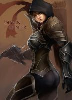 Diablo III - Demon Hunter by phamoz