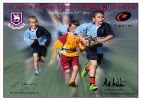 St Johns Tag Rugby Festival Certificate by CaptPunk