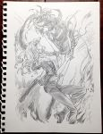 AX15 Pencil commission 03 by yooani