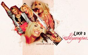 Demi Lovato Wallpaper 2 by amazing25