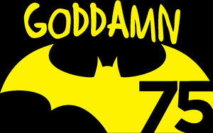 Goddamn Batman 75th -WP by DTWX