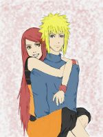 minato and kushina by 25mar25