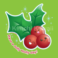 Jolly Holly-day by kimchikawaii