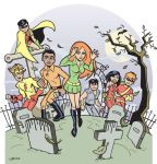 Teen Titans Spooky 70s by BillWalko
