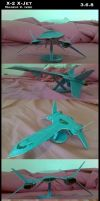 X-Jet Papercraft - COMPLETE by Maneir