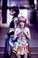 Yun Fang and Vanille by qcamera