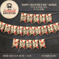 Happy Valentine's Day Banner by Whimsical-Adventure