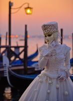 Mask on the sunset by AlexGutkin