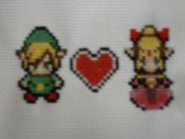Legend of Zelda Cross Stitch by Ava-chankun