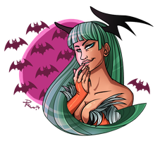 Morrigan Aensland by bPAVLICA