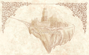 The Zenith Station Sky Island by Apeliotus