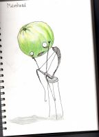 melonhead by BleedingViolet
