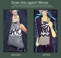 Draw again meme by Uberzers
