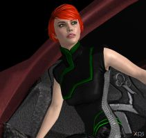 Mass Effect:  A Study of Kelly by CharlesWS