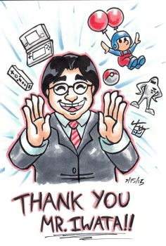 Thank You Mr. Iwata by hooksnfangs