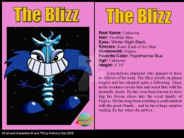 The Blizz Card by Gummibearboy