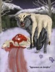 Wolf in sheep's clothing by vampire-wolf-girl