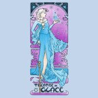 Dame de Glace tee by DiHA-Artwork