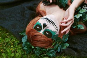Calavera Portrait by LuckyStrike-cosplay