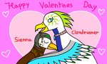 Sienna X Cloudrunner -Happy Valentines Day- by Piplup-Luv