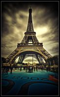 Eiffel Tower II. by feudal89