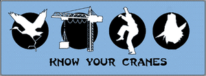 Know Your Cranes by Sakeke