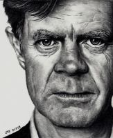 William H. Macy by Rick-Kills-Pencils
