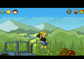Ash in scribblenauts unlimited by VengefulSpirits