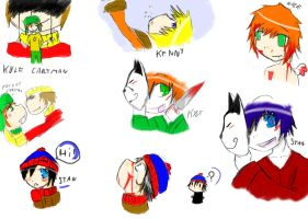 South Park sribbles by Avril170