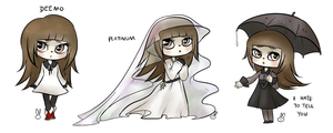 Deemo: Regular, Platinum, I Hate To Tell You by theamazingwrabbit