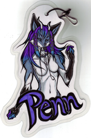 OLD: Penn Badge by beefyrae