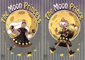 The Moon Prince and Princess by Willow-San