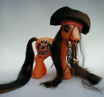 Jack Sparrow Pony by customlpvalley