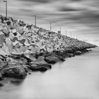 On The Breakwater by hunterside