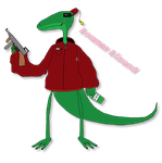 Lounge Lizard Member by Catty-Mintgum
