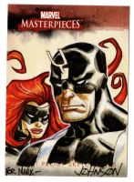 Upperdeck sketch card by Devilpig