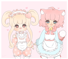 Piiche and Kokoro by PuffyPrincess