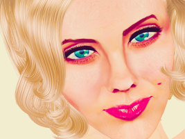 MMD A The Sims 3 Marilyn Monroe by brenokisch